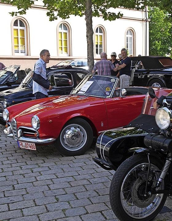 Autofans in Müllheim  | Foto: Volker Münch