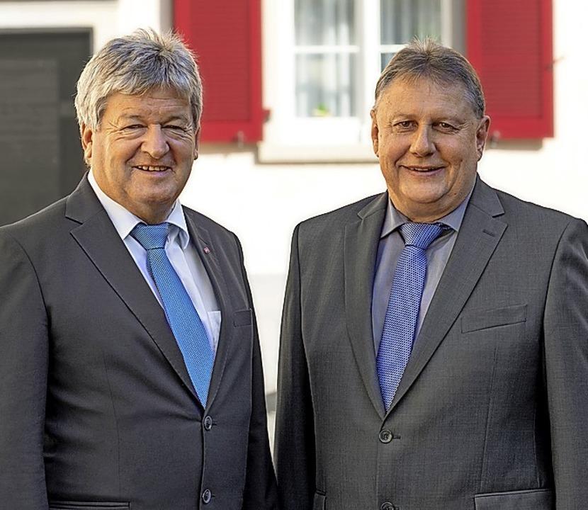 Waldkirch ist in den Heimbau-Gremien s...en Rüdiger Schirmeister (Foto rechts).  | Foto: Heimbau Breisgau