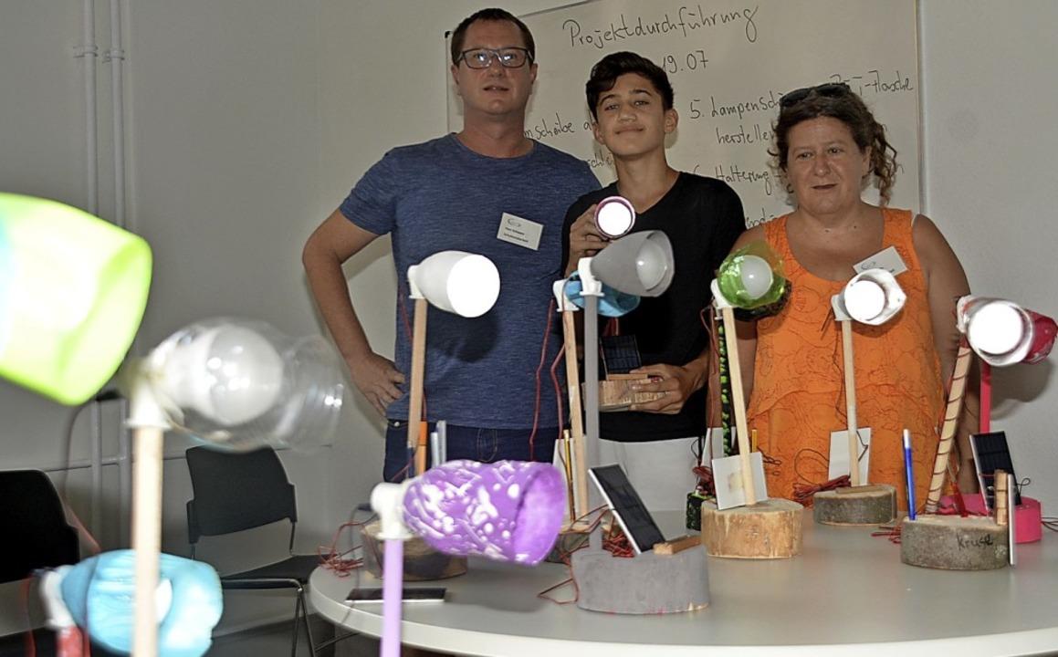 Eltern organisierten das erste Sommerf...en der Projekttage vorgestellt wurden.  | Foto: Danielle Hirschberger