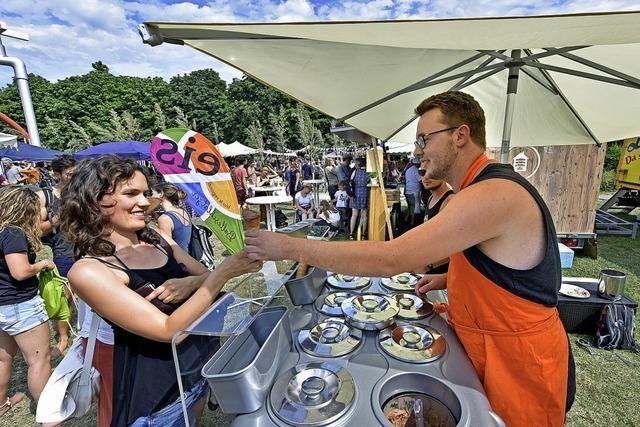 Beim Agrikulturfestival ging's am Wochenende um umwelt- und sozialverträgliche Nahrungsmittelherstellung
