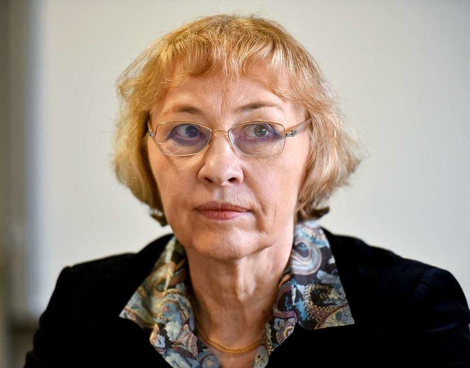 Die Journalistin Susanne Wetterich wur...nde der Frauen-Union im Land gewählt.   | Foto: Jan-Philipp Strobel (dpa)