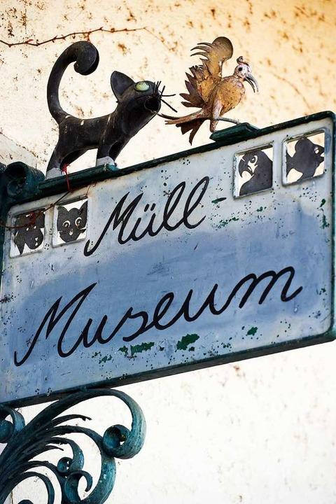 Eingang Müllmuseum  | Foto: Daniel Schoenen