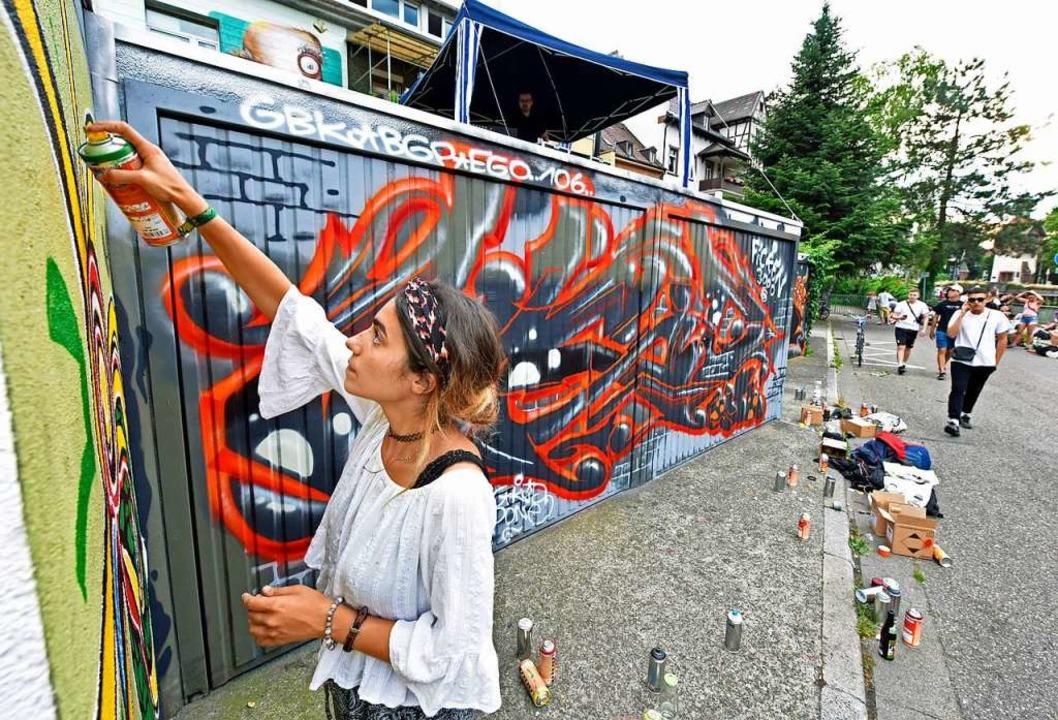 Bei der Gestaltung von Garagen beteiligte sich Yüksel Songurtekin.  | Foto: Michael Bamberger