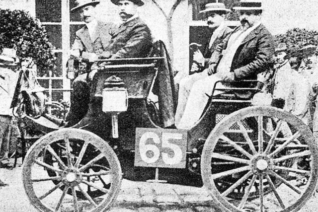 Der Gewinner fuhr mit Daimler-Motor