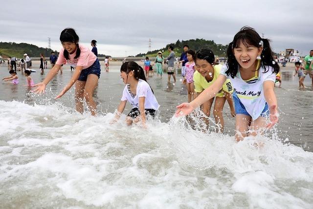 Das Baden in Fukushima ist wieder erlaubt