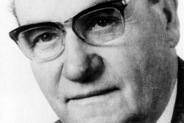 Heinrich Rombach hob 1946 die Badische Zeitung mit aus der Taufe