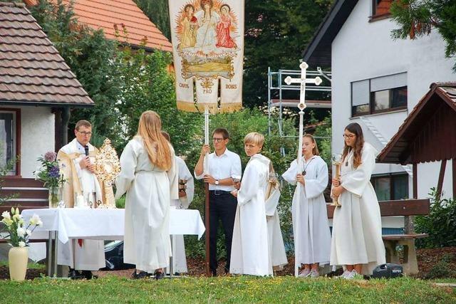 Der Umgang in Rheinfelden-Eichsel ist auch ein Volksfest