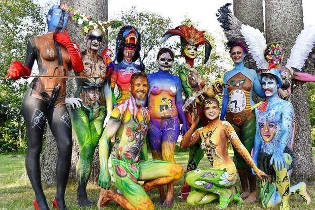 Bodypainting Festival am Titisee