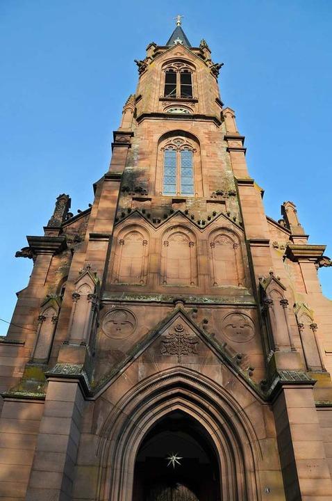 Die Fassade der Schopfheimer Stadtkirche.  | Foto: Nicolai Kapitz