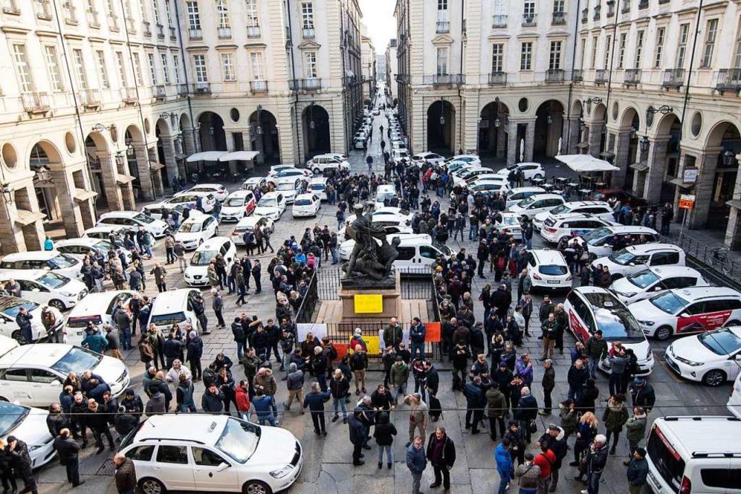 In Italien soll am Mittwoch zeitweise kein Taxi fahren.  | Foto: Stefano Guidi