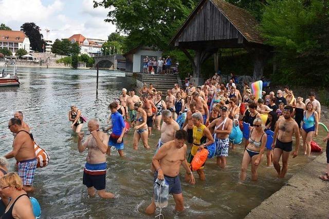 Grenzenlos Schwimmen ist ein Erlebnis für beide Rheinfelden