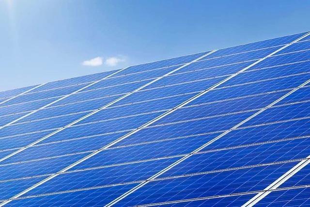 Neue Bürgerinitiative wendet sich gegen Flächen-Photovoltaik