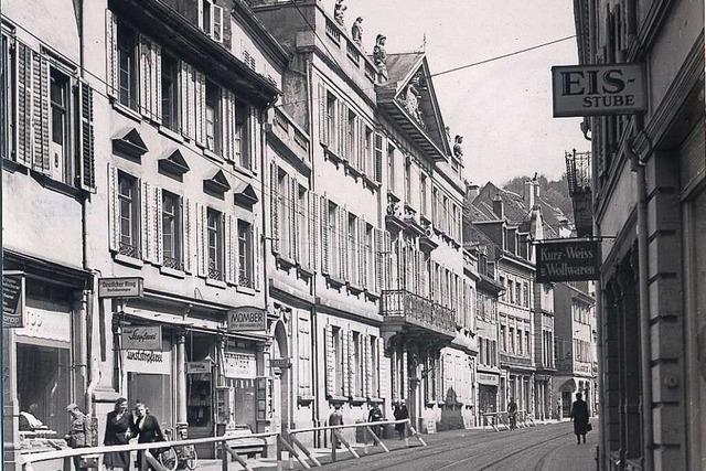 Die Geschichte des Palais Sickingen an der Salzstraße in Freiburg