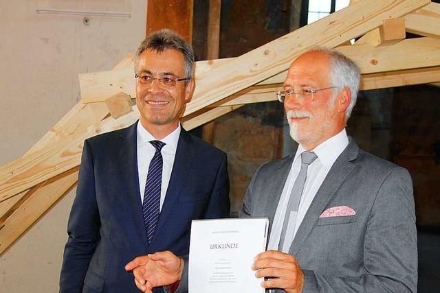 Der Schopfheimer Gewerbeschulleiter Ralf Dierenbach geht in den Ruhestand