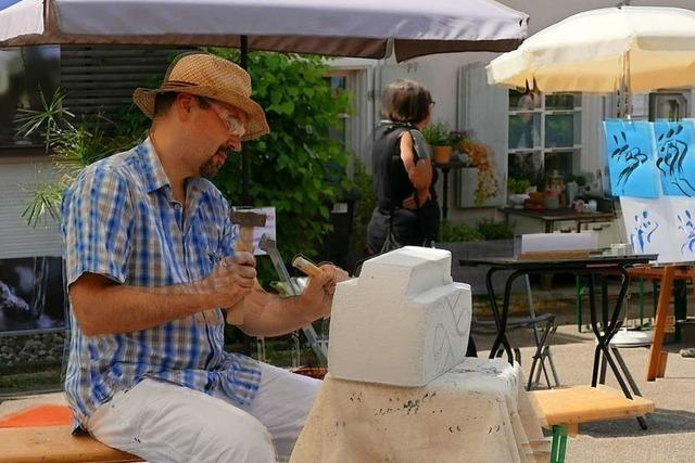 78 Künstlerinnen und Künstler machten beim Art-Dorf Ötlingen mit