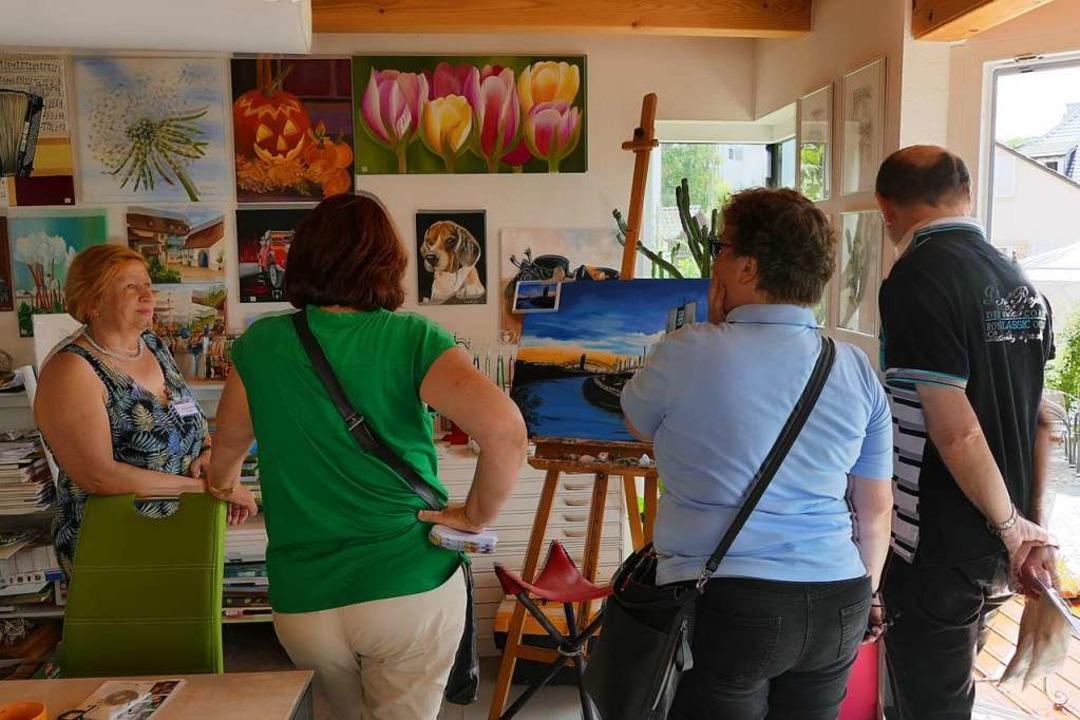 78 Künstler und Künstlerinnen präsentierten sich diesmal im Art-Dorf  | Foto: siemann