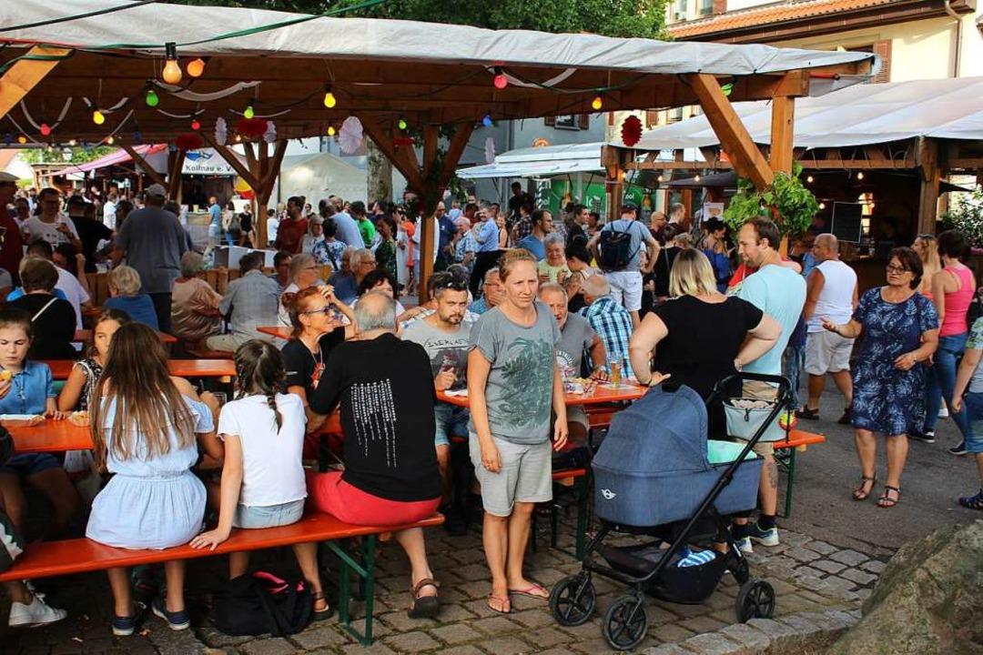Viele Besucher zog es auch am Sonntagnachmittag zum Kollnauer Fescht  | Foto: Karin Heiß