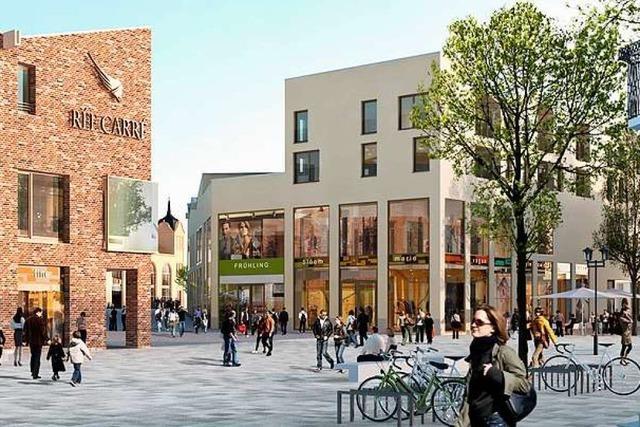 Rée-Carré in Offenburg wird teurer als geplant, ist aber gefragt