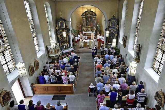 Seit 200 Jahren mit eigener Kirche