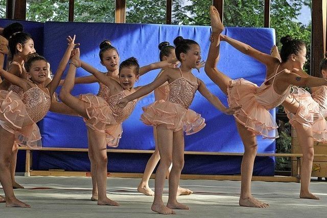 Ein akrobatisches Spektakel