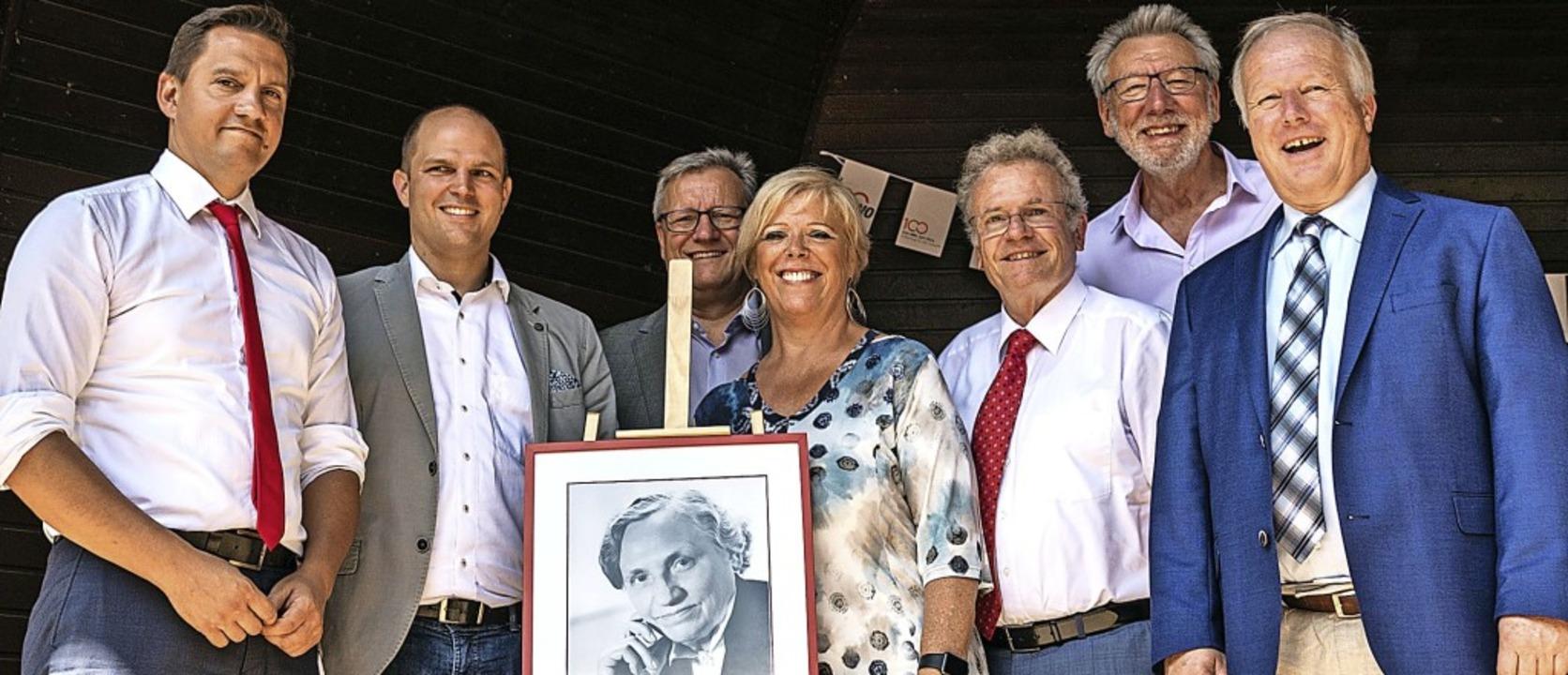 Viele Gratulanten sprachen beim AWO-So... der Verbandsgründerin Marie Juchacz.   | Foto: Helmut Rothermel