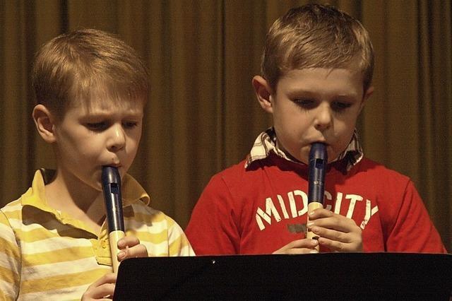 Musikschule Görwihl zeigt ihr Können