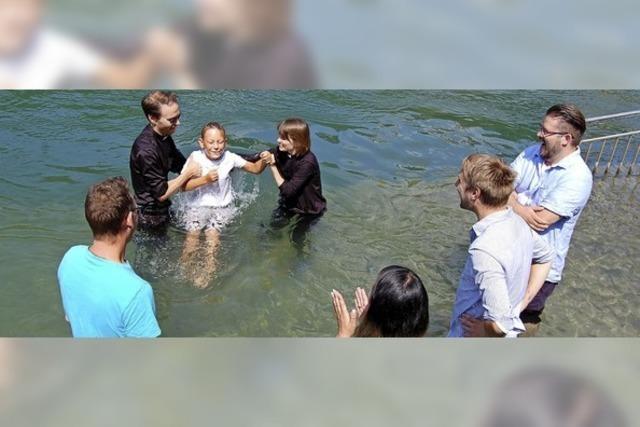 Eine ganz besondere Taufe