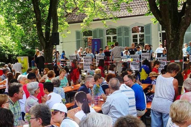 So bunt war das Miteinander-Fest im Weiler Stadtteil Friedlingen