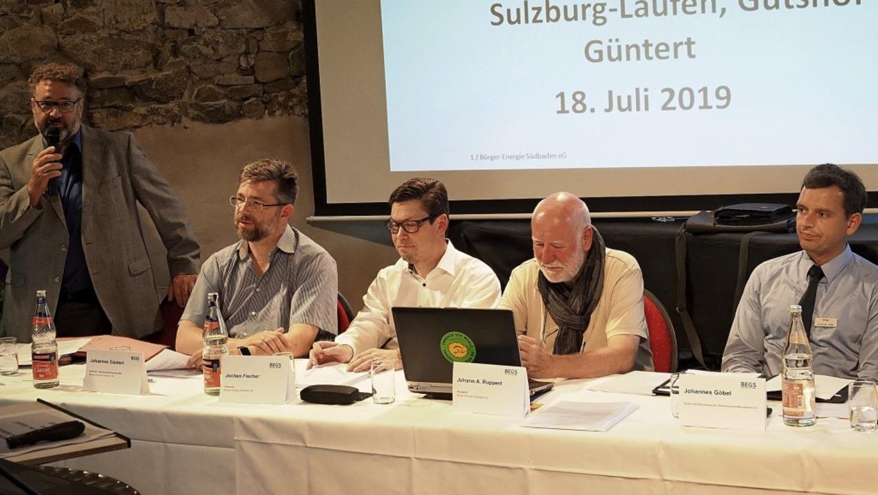 Zufrieden mit der Entwicklung der BEGS...ttembergischen Genossenschaftsverband.  | Foto: Jutta Geiger