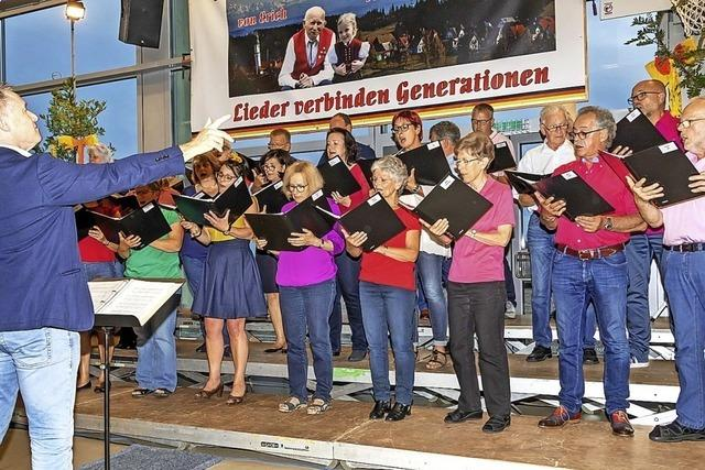 Ein Chorkonzert mit besonderer Note