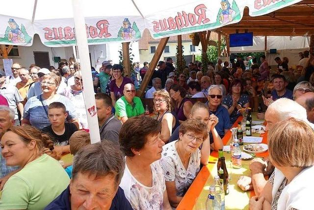 Dorffest in Dillendorf