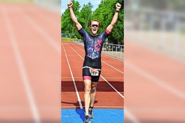 Anna Schultz und Lasse Koch gewinnen beim 24. Freiburg Triathlon