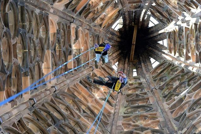 Tradition und Hightech am Turm