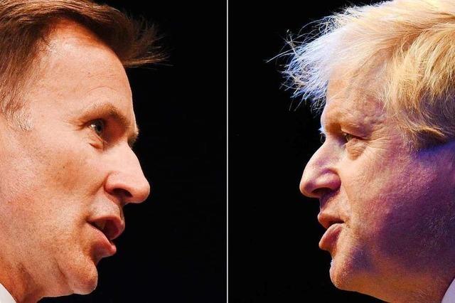 Hunt oder Johnson – Wer wird britischer Premierminister?