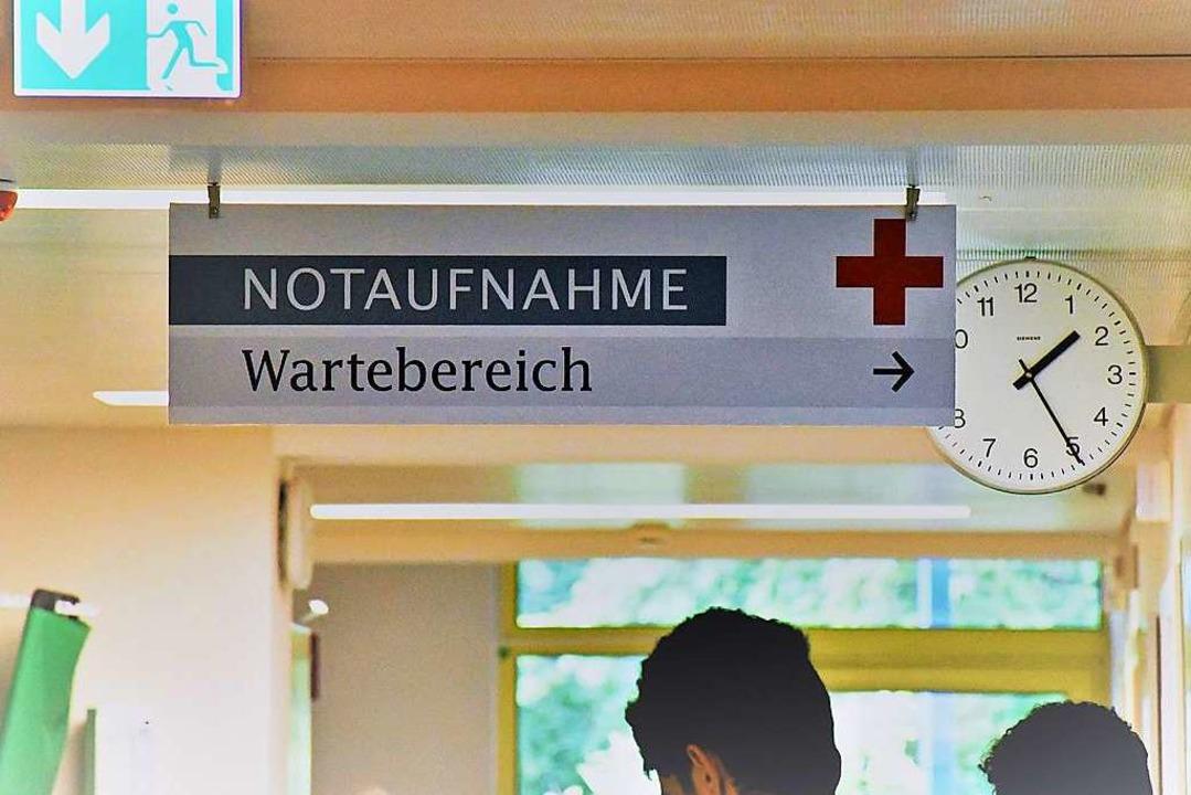 In den Notaufnahmen der Krankenhäuser werden mitnichten nur Notfälle behandelt.   | Foto: Barbara Ruda