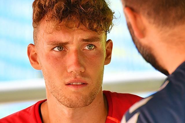 Aufgeräumt und reflektiert: Luca Waldschmidt beim SC Freiburg