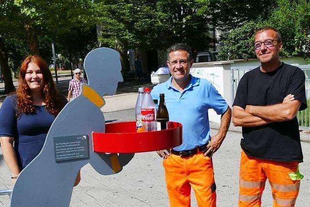 Pfandbutler sollen Flaschensammlern das Leben leichter machen