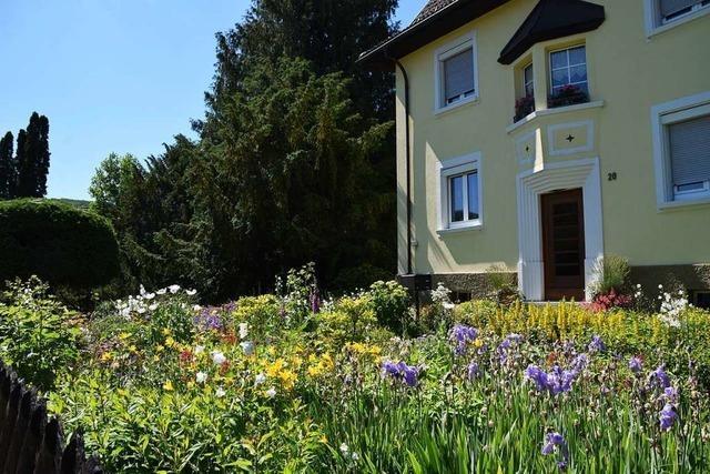 Zu Besuch in Alice Kneusslins naturnahem Garten in Schopfheim