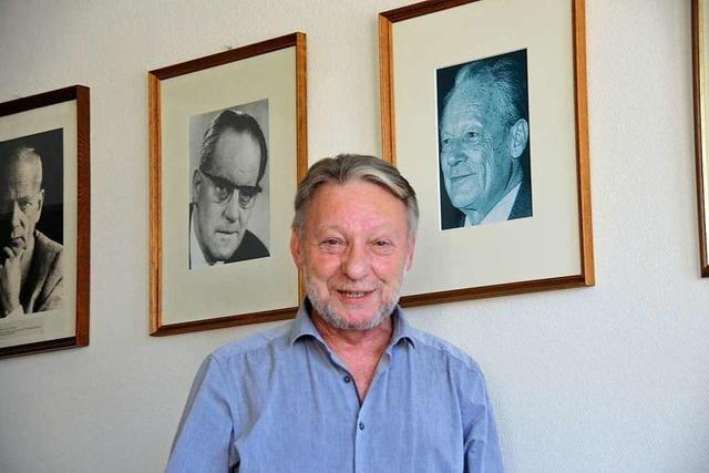 Der frühere Ruster Bürgermeister Günter Gorecky blickt auf 15.000 Stunden Kreistagsarbeit zurück