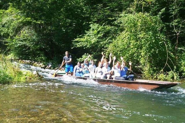 Zu gewinnen: eine geführte Kahnfahrt für bis zu zehn Personen durch das Naturschutzgebiet Taubergießen