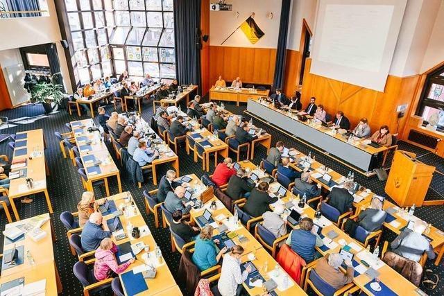 Der neue Lörracher Kreistag tagt am Mittwoch zum ersten Mal