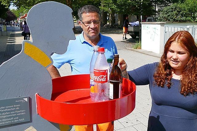 Pfandbutler sollen das Leben von Flaschensammlern leichter machen