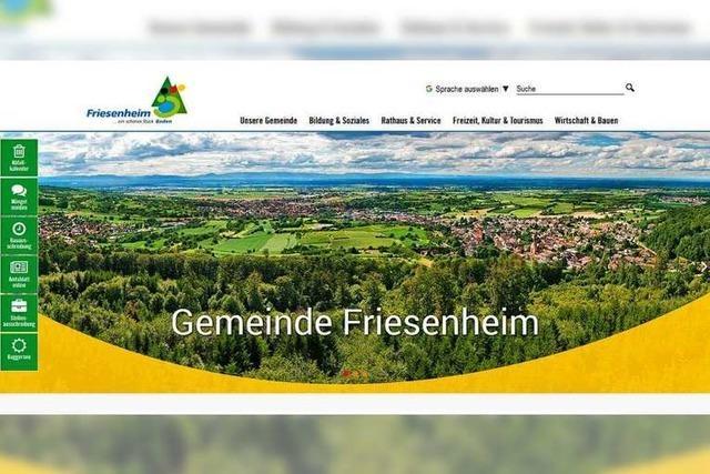 Die Gemeinde Friesenheim ist ab Donnerstag wieder online
