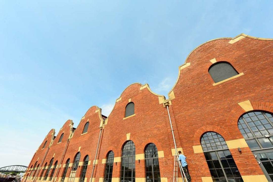 Rote Backsteinmauern verleihen der den...ue Geschäftsideen aus.Erscheinungsbild  | Foto: Ingo Schneider
