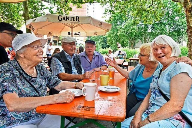 Beim Stadtteilfest in Landwasser beteiligen sich immer weniger Ehrenamtliche