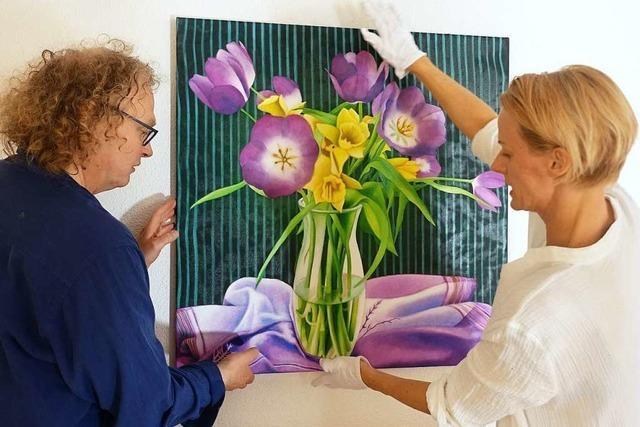 Kunstliebhaber zeigen ihre Lieblingsbilder im Stapflehus in Weil am Rhein