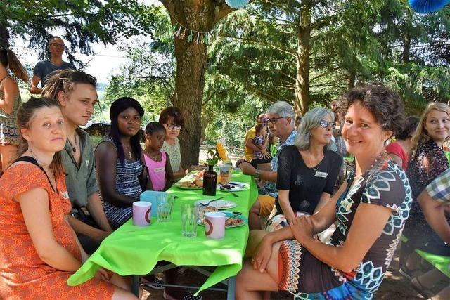 Wie war's beim... Sommerfest der Bürgerrunde für Neubürgern in Heuweiler?
