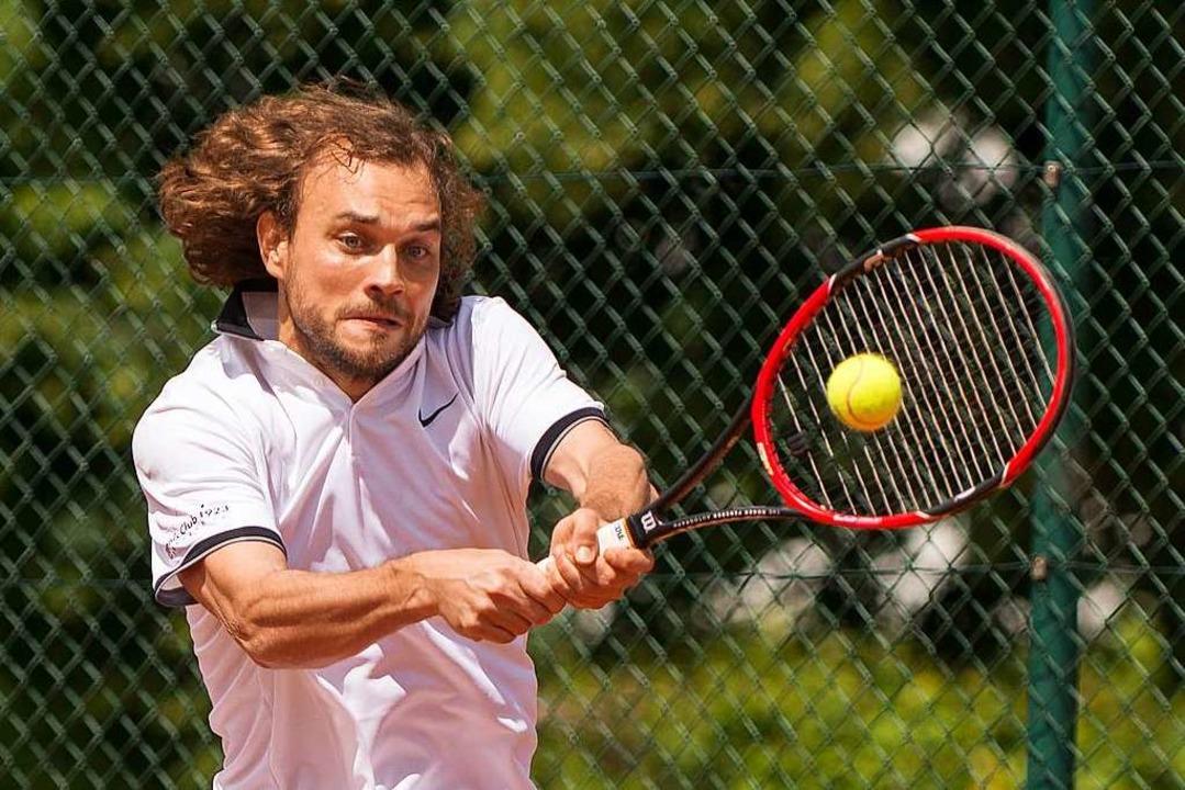 Als Tennisjunior schlug Oliver Bühler Stanislas Wawrinka.    Foto: Markus Schächtele