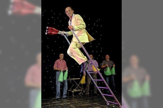 Drittes Spektakel in Kirchzarten mit Musik und Comedy