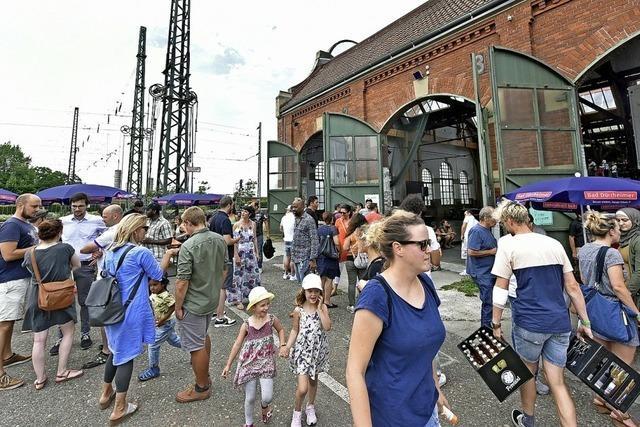 Beim Internationalen Sommerfest in der Freiburger Lokhalle wurde die kulturelle Vielfalt gefeiert